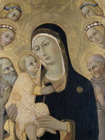Madonna and Child with Angels and Saints, C.1450