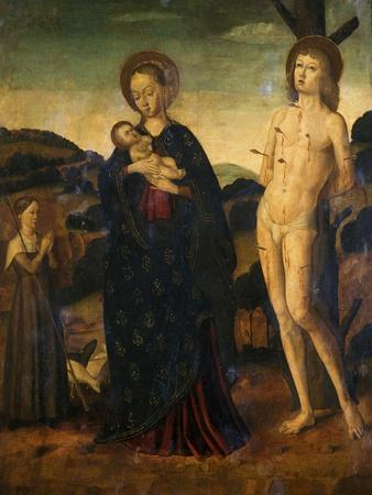 Madonna and Child with St. Sebastian and a Shepherdess