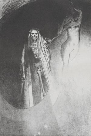 La Mort: 'C'Est Moi Qui Te Rends Serieuse;..', 1896