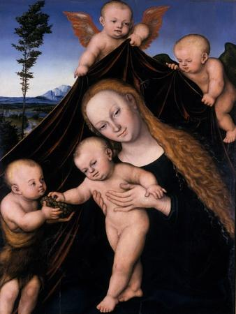 Madonna and Child with John the Baptist, 1534