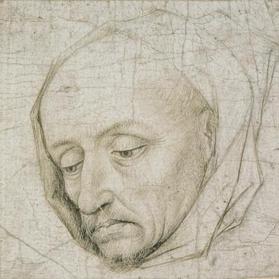 Study of the Head of an Old Man, 15th Century