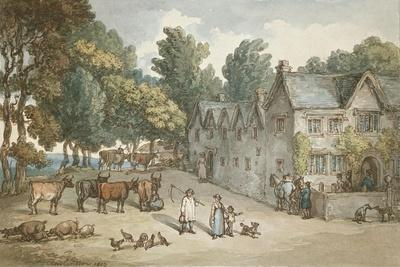 A Farmhouse at Hengar, Cornwall, 1803