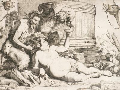 Silenus at the Wine Vat, 1628
