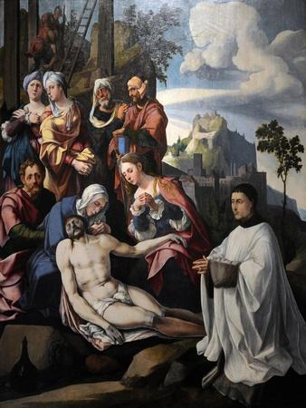 Lamentation of Christ with a Donor, C. 1535