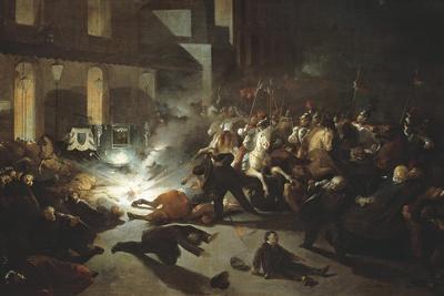 Assassination Attempt on Napoleon III by Felice Orsini in Paris on Jan 14, 1858