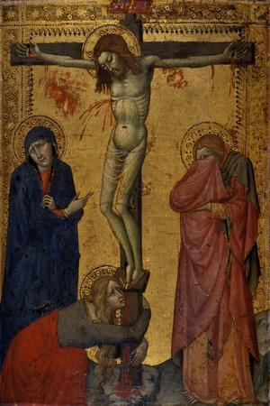 Christ on the Cross with Mary, John and Mary Magdalene, C.1370/80