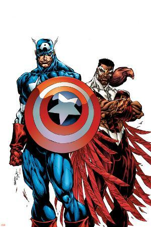 Captain America & The Falcon No.1 Cover: Captain America and Falcon