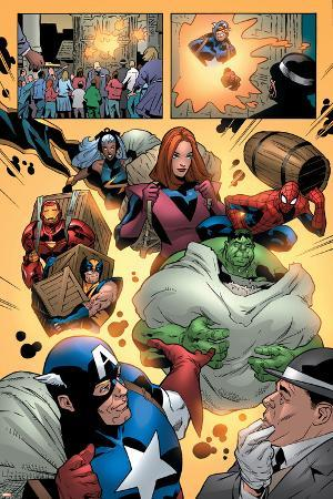 Marvel Adventures The Avengers No.14 Group: Captain America