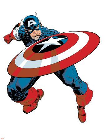 Captain America V4, No.27 Cover: Captain America