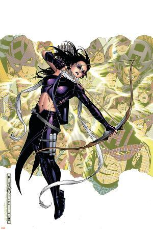 Young Avengers Presents No.6 Cover: Hawkeye