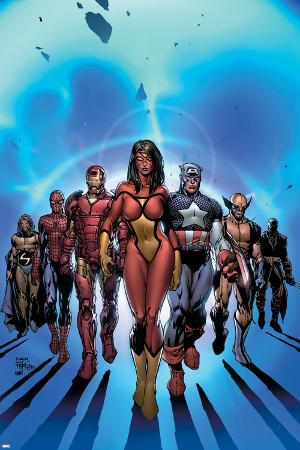 New Avengers No.7 Cover: Spider Woman