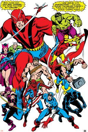 Giant-Size Avengers No.1 Group: Giant Man