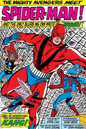 Avengers Classic No.11 Group: Spider-Man, Giant Man and Wasp