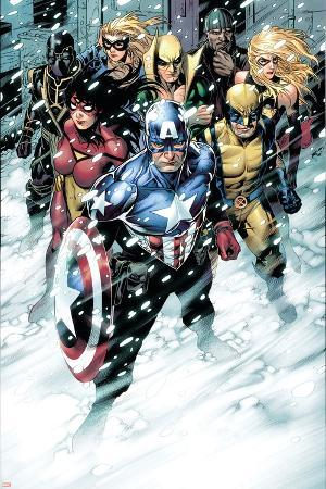 Free Comic Book Day 2009 Avengers No.1 Group: Captain America