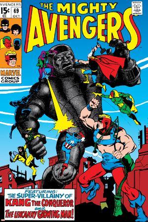 Avengers No.69 Cover: Kang