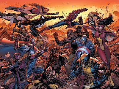 New Avengers No.50 Cover: Wolverine