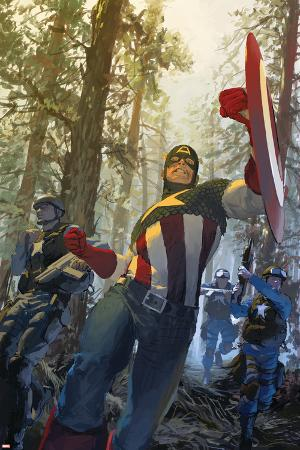 Captain America No.602 Cover: Captain America