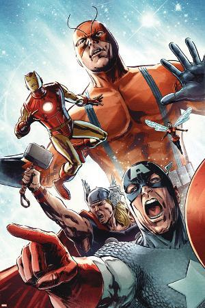 Avengers vs. Atlas No.2 Group: Captain America, Thor, Iron Man, Wasp and Giant Man