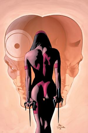 Bullseye Greatest Hits No.4 Cover: Elektra, Bullseye and Daredevil