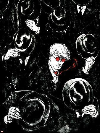 Daredevil No.68 Cover: Murdock and Matt