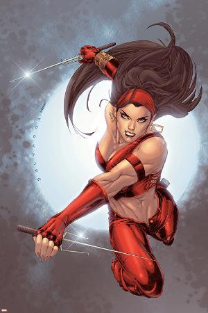 Ultimate Elektra No.5 Cover: Elektra