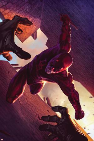 Daredevil No.103 Cover: Daredevil