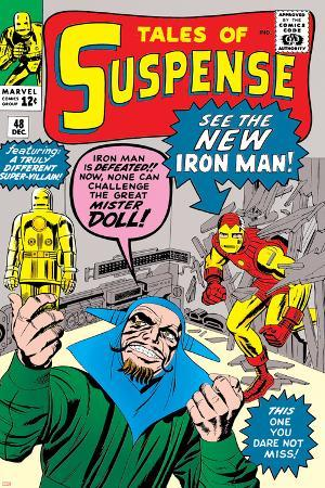 Tales of Suspense No.48 Cover: Iron Man and Mister Doll