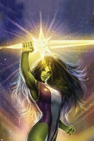 She-Hulk: Cosmic Collision No.1 Cover: She-Hulk