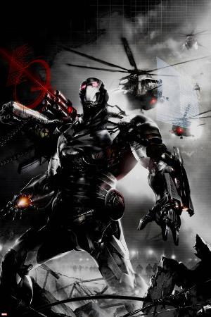 War Machine No.2 Cover: War Machine