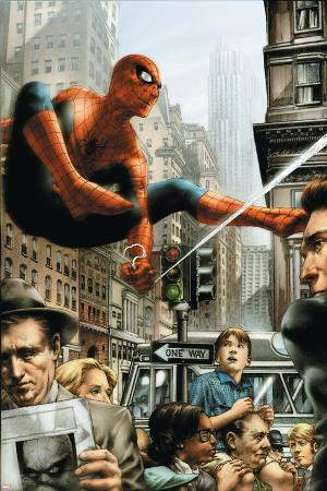 Marvels: Eye Of The Camera No.2 Cover: Spider-Man