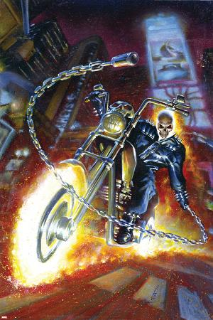Ghost Rider Annual No.2 Cover: Ghost Rider