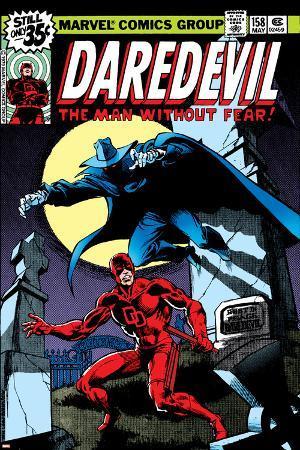 Daredevil No.158 Cover: Daredevil and Death-Stalker