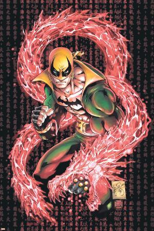 Iron Fist No.1 Cover: Iron Fist