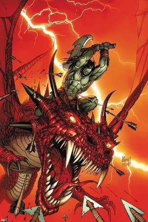 Skaar: Son Of Hulk No.2 Cover: Skaar