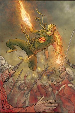 Immortal Iron Fist No.15 Cover: Iron Fist