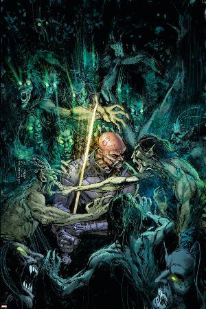 Tomb of Dracula No.3 Cover: Blade