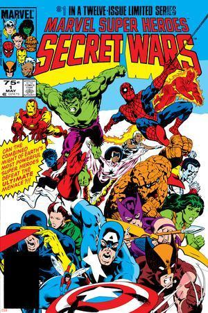 Secret Wars No.1 Cover: Captain America