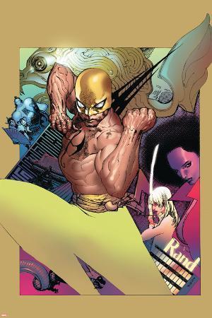 The Immortal Iron Fist No.20 Cover: Iron Fist