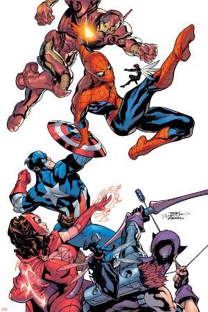 Marvel Knights Spider-Man No.2 Cover: Spider-Man
