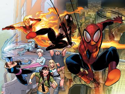 Ultimate Comics Spider-Man No.1 Cover: Spider-Man