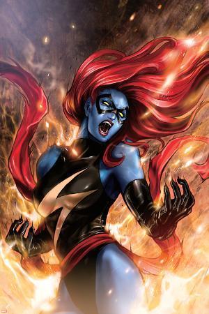 Ms. Marvel No.48 Cover: Mystique
