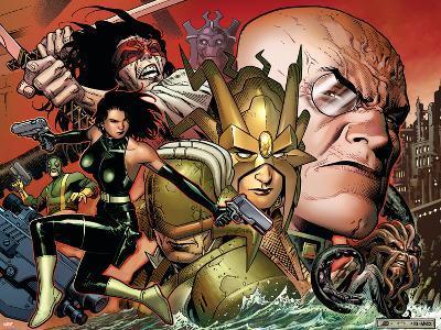 Secret Warriors No.6 Cover: Viper and Madame Hydra