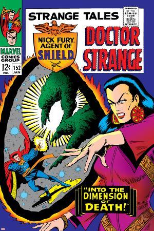 Strange Tales No.152 Cover: Dr. Strange, Umar and Mindless Ones
