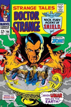 Strange Tales No.156 Cover: Dr. Strange