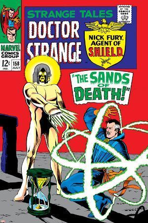 Strange Tales No.158 Cover: Dr. Strange and Living Tribunal