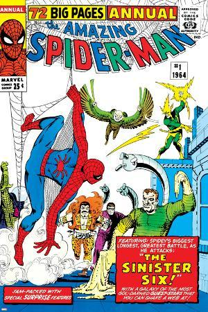 Amazing Spider-Man Annual No.1 Cover: Spider-Man