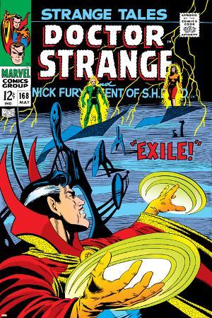 Strange Tales No.168 Cover: Dr. Strange and Yandroth
