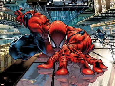 The Sensational Spider-Man No.23 Cover: Spider-Man