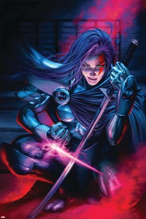 New Exiles No.9 Cover: Psylocke