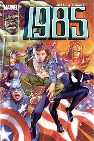 Marvel 1985 No.6 Cover: Spider-Man, Captain America, Iron Man and Hulk